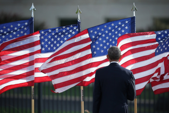 Memorial Event「President Obama Marks Anniversary Of September 11th Attacks At The Pentagon」:写真・画像(4)[壁紙.com]
