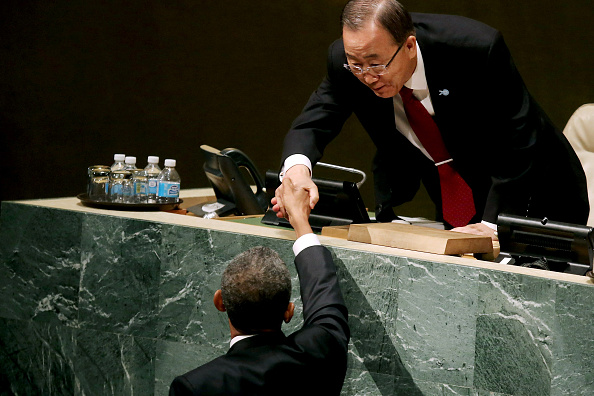 United Nations Building「President Obama Attends Annual UN General Assembly」:写真・画像(13)[壁紙.com]