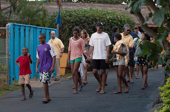 Hanauma Bay「President Obama And Family Spend Holidays In Hawaii」:写真・画像(7)[壁紙.com]
