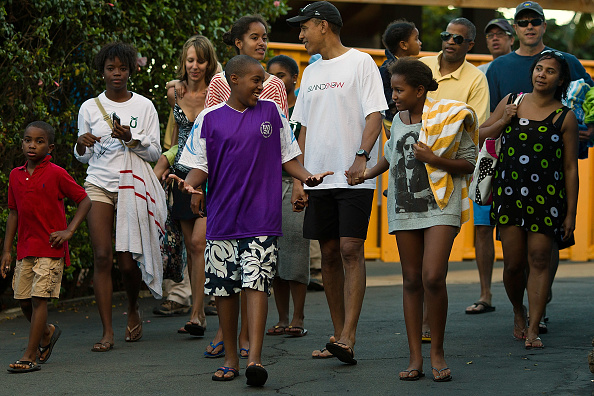 Hanauma Bay「President Obama And Family Spend Holidays In Hawaii」:写真・画像(19)[壁紙.com]