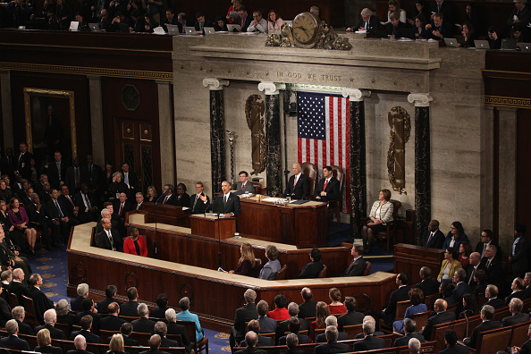 United States Congress「President Obama Delivers His Last State Of The Union Address To Joint Session Of Congress」:写真・画像(19)[壁紙.com]