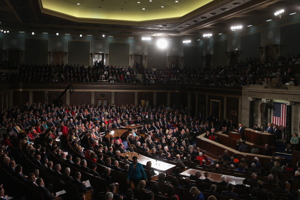 Joint Session of Congress「President Obama Delivers State Of The Union Address At U.S. Capitol」:写真・画像(10)[壁紙.com]