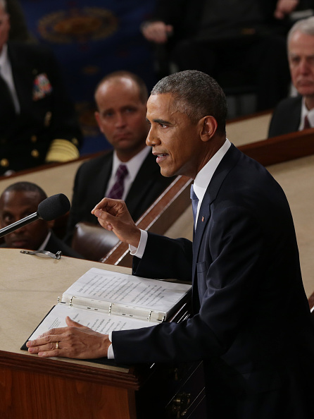 Alex Wong「President Obama Delivers State Of The Union Address」:写真・画像(16)[壁紙.com]