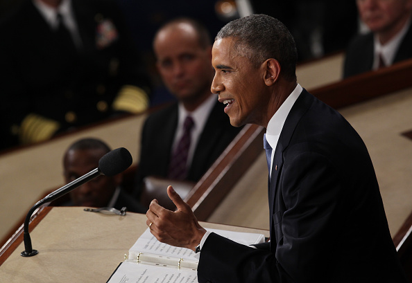 Alex Wong「President Obama Delivers State Of The Union Address」:写真・画像(13)[壁紙.com]
