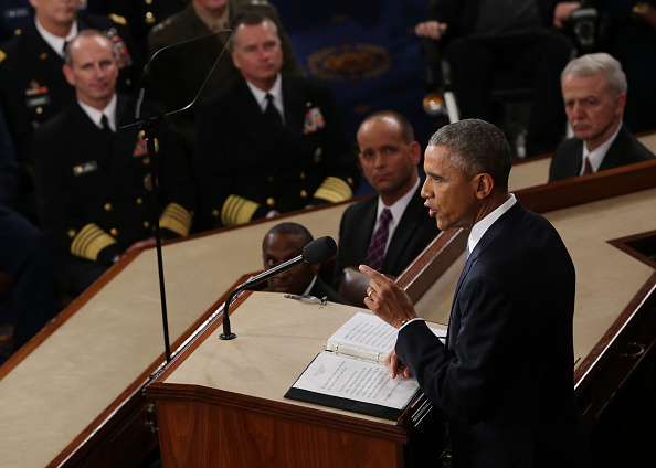Alex Wong「President Obama Delivers State Of The Union Address」:写真・画像(11)[壁紙.com]
