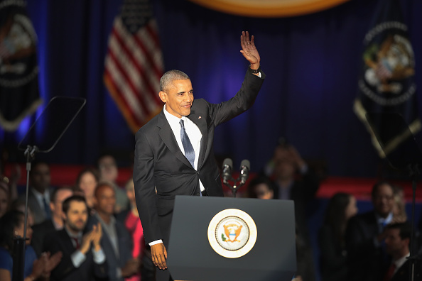 Smiling「President Obama Delivers Farewell Address In Chicago」:写真・画像(15)[壁紙.com]