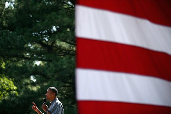 Washington Park「Barack Obama Goes On 2-Day Campaign Swing In Ohio And Pennsylvania」:写真・画像(3)[壁紙.com]