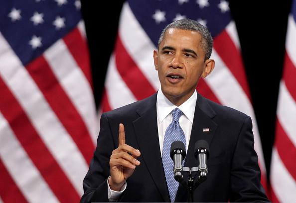 Speech「President Obama Delivers Address On Immigration Reform In Las Vegas, Nevada」:写真・画像(5)[壁紙.com]