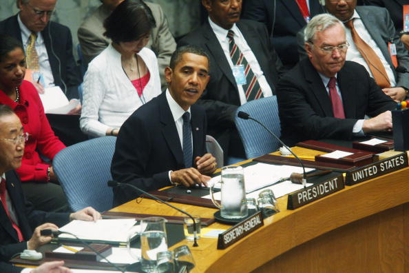 United Nations Building「Gathering Of World Leaders At U.N. General Assembly Continues」:写真・画像(8)[壁紙.com]
