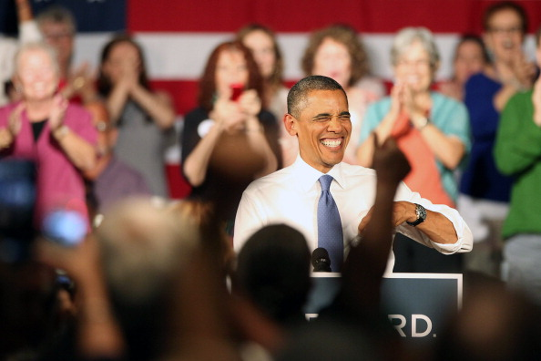 Florida - US State「Obama Delivers Remarks In West Palm Beach As Part Of 2-Day FL Campaign Swing」:写真・画像(19)[壁紙.com]