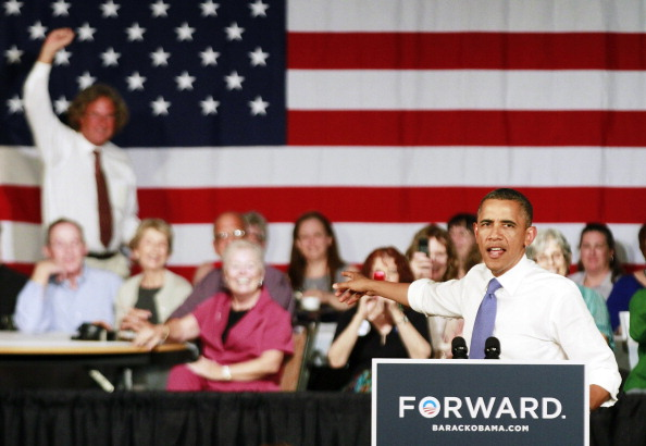 Florida - US State「Obama Delivers Remarks In West Palm Beach As Part Of 2-Day FL Campaign Swing」:写真・画像(12)[壁紙.com]