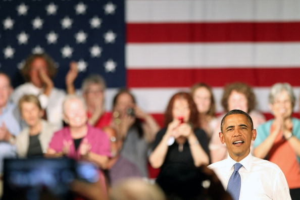 Florida - US State「Obama Delivers Remarks In West Palm Beach As Part Of 2-Day FL Campaign Swing」:写真・画像(13)[壁紙.com]