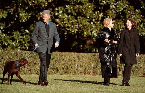 Clintons leave for Hilton Head:ニュース(壁紙.com)