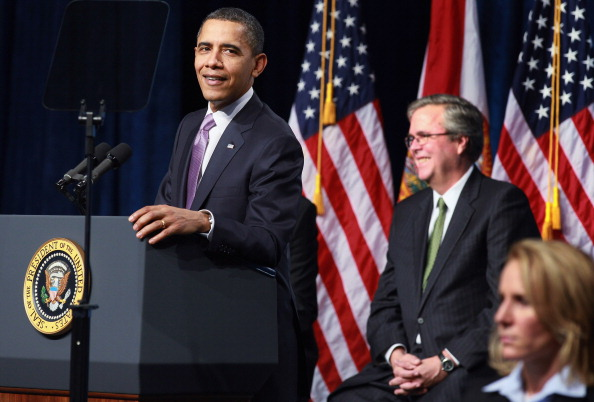 Florida - US State「President Obama Speaks On Education At Miami High School」:写真・画像(10)[壁紙.com]