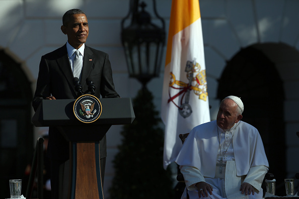 Win McNamee「Pope Francis Meets President Obama At The White House」:写真・画像(11)[壁紙.com]