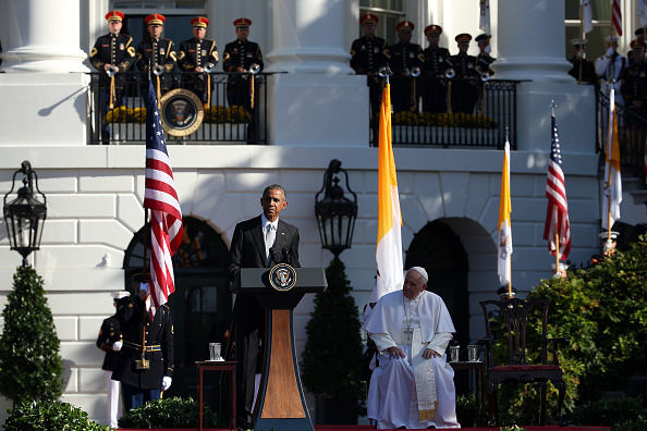 Win McNamee「Pope Francis Meets President Obama At The White House」:写真・画像(12)[壁紙.com]