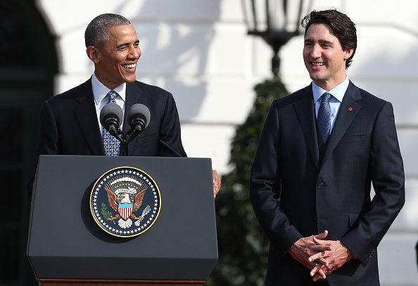 Washington DC「President Obama Hosts Canadian PM Trudeau On His Official Visit To Washington」:写真・画像(14)[壁紙.com]