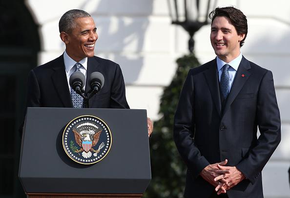 US President「President Obama Hosts Canadian PM Trudeau On His Official Visit To Washington」:写真・画像(12)[壁紙.com]