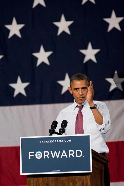 Orlando - Florida「President Obama Discusses Economy At Florida Campaign Event」:写真・画像(16)[壁紙.com]