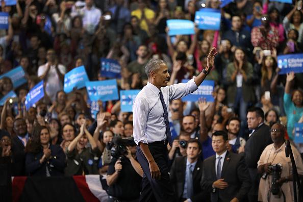 Florida International University「President Obama Attends Early Voting Rally In Miami」:写真・画像(13)[壁紙.com]