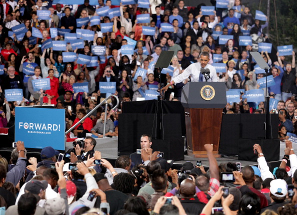 Florida - US State「Obama Rallies Supporters In Battleground State Of Nevada」:写真・画像(15)[壁紙.com]