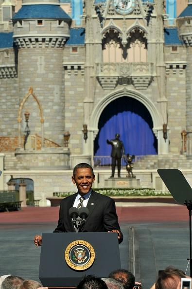 Magic Kingdom「Obama Discusses Economic Strategies At Walt Disney World Event」:写真・画像(17)[壁紙.com]