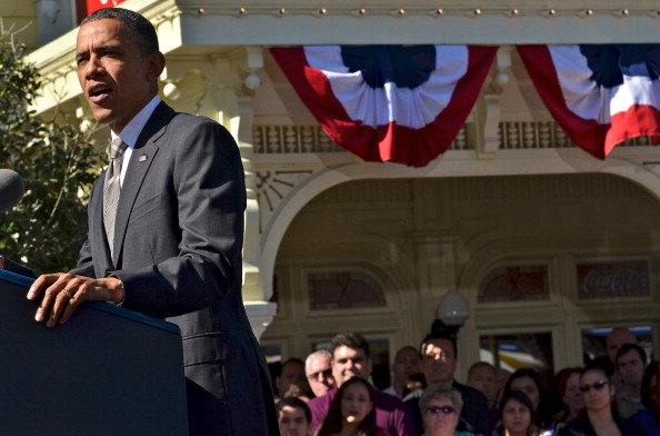 Magic Kingdom「Obama Discusses Economic Strategies At Walt Disney World Event」:写真・画像(7)[壁紙.com]