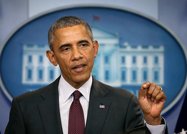 Press Room「President Obama Speaks On The Mass Shooting At Community College In Oregon」:写真・画像(17)[壁紙.com]