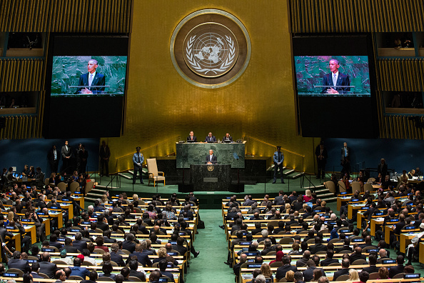United Nations Building「United Nations Hosts World Leaders For Annual General Assembly」:写真・画像(1)[壁紙.com]