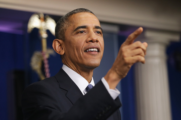 Press Room「President Obama Holds End-Of-Year News Conference At The White House」:写真・画像(17)[壁紙.com]