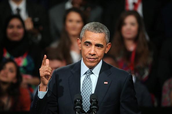 政治と行政「President Obama Attend Town Hall Event In Central London」:写真・画像(8)[壁紙.com]