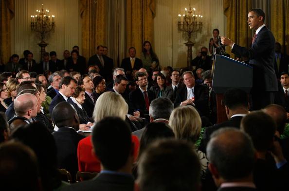 East Room「Obama Holds Nationally-Televised News Conference At White House」:写真・画像(16)[壁紙.com]