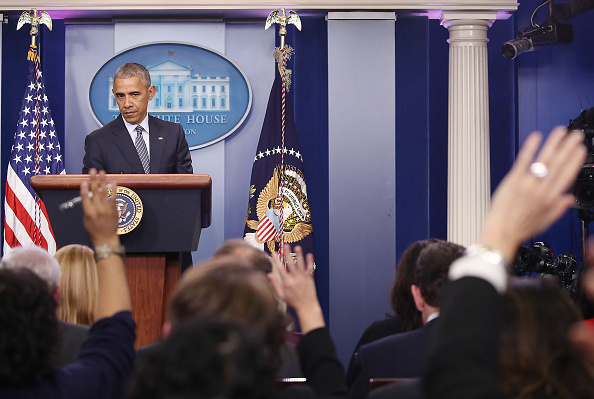 Press Conference「President Obama Holds Press Conference At The White House」:写真・画像(9)[壁紙.com]