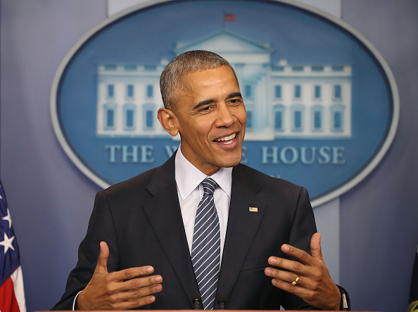 Smiling「President Obama Holds Press Conference At The White House」:写真・画像(14)[壁紙.com]