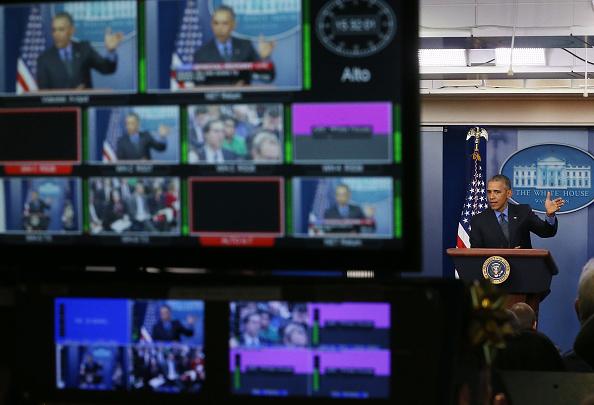 プレスルーム「President Obama Holds Press Conference At White House」:写真・画像(19)[壁紙.com]