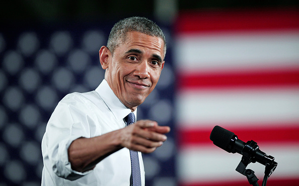 Barack Obama「President Obama Speaks On Automotive And Manufacturing Industry At Ford Michigan Assembly Plant」:写真・画像(8)[壁紙.com]