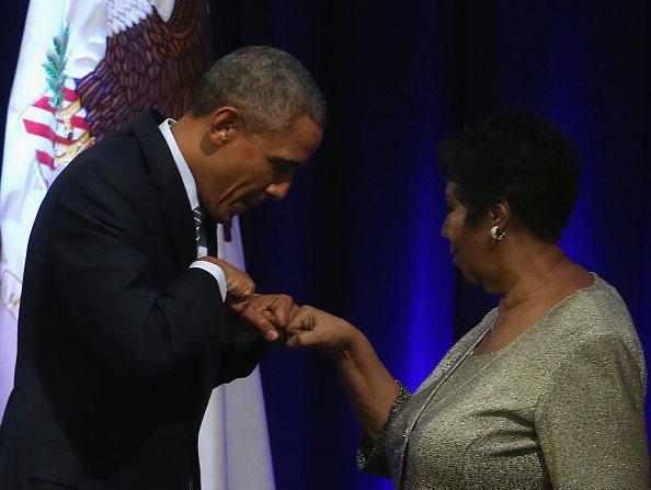 Textured「President Obama Joins Justice Department Ceremony Honoring Eric Holder」:写真・画像(11)[壁紙.com]