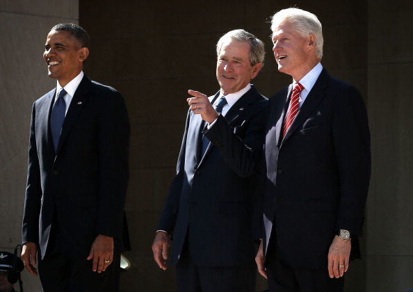 George W「George W. Bush Library Dedication Attended By President Obama And Former Presidents」:写真・画像(17)[壁紙.com]