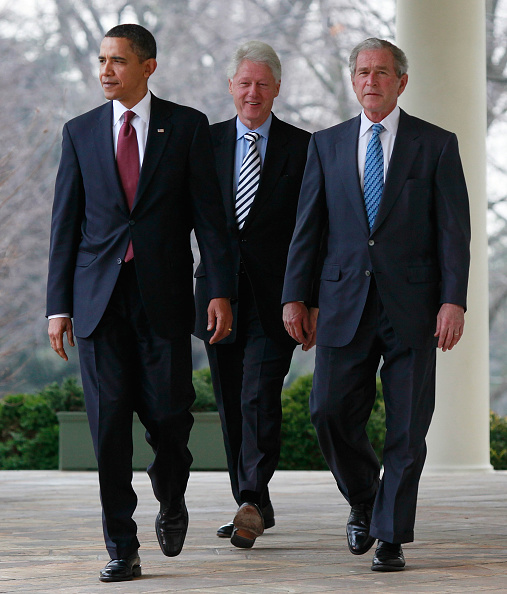 George W「Obama, With Former Presidents Bush And Clinton, Speaks On Haiti」:写真・画像(13)[壁紙.com]