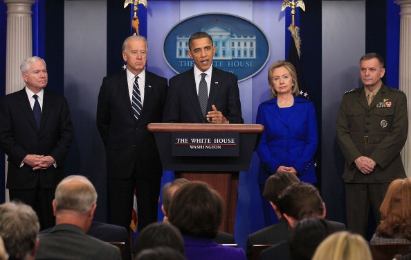 Secretary Of State「Obama Delivers Statement On Afghanistan-Pakistan Annual Review」:写真・画像(14)[壁紙.com]