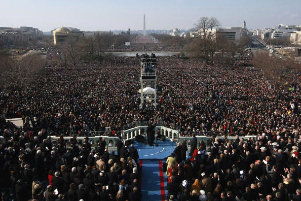 Inauguration Into Office「Barack Obama Is Sworn In As 44th President Of The United States」:写真・画像(7)[壁紙.com]