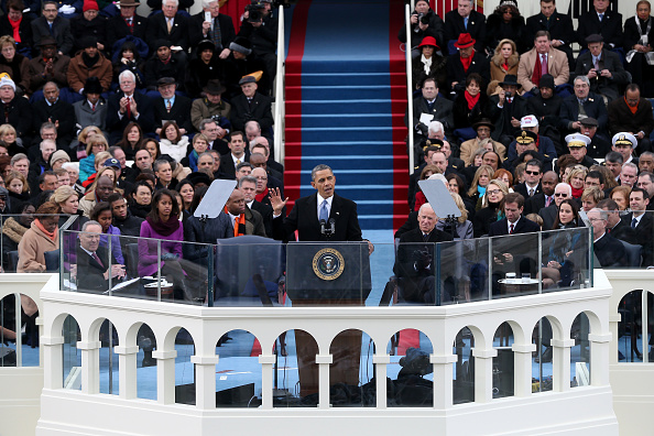 Speech「Barack Obama Sworn In As U.S. President For A Second Term」:写真・画像(17)[壁紙.com]