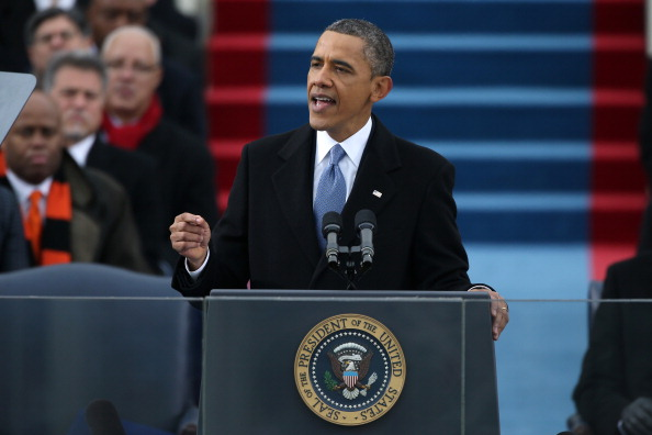 Speech「Barack Obama Sworn In As U.S. President For A Second Term」:写真・画像(15)[壁紙.com]