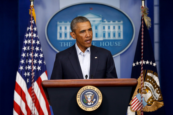 Press Conference「President Obama Delivers Statement At The White House」:写真・画像(2)[壁紙.com]