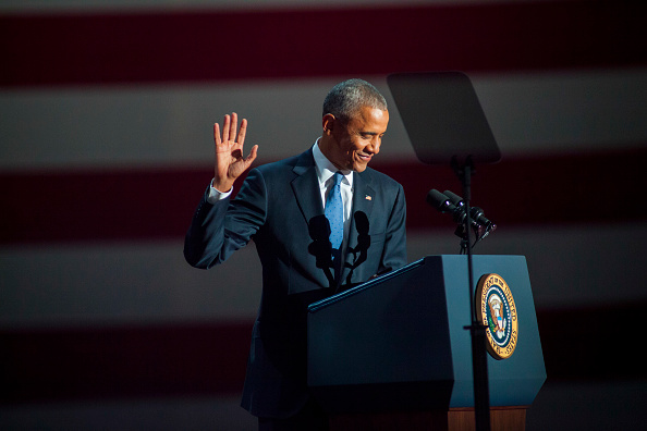 笑顔「President Obama Delivers Farewell Address In Chicago」:写真・画像(15)[壁紙.com]
