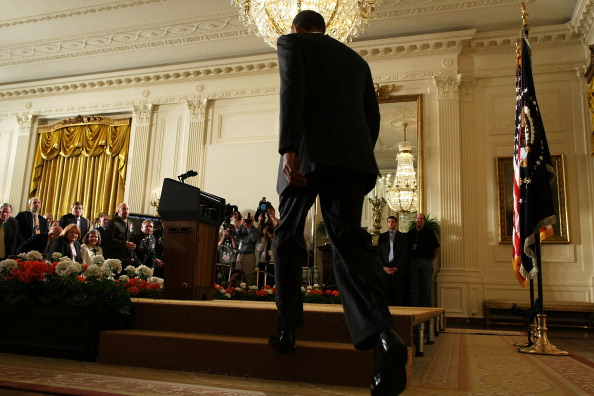 East Room「President Obama Makes Administration Personel Announcements」:写真・画像(17)[壁紙.com]