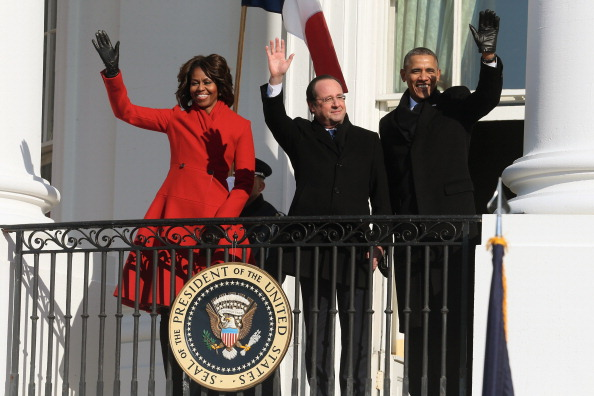 US First Lady「President Obama And First Lady Welcome French President  Hollande To The White House」:写真・画像(11)[壁紙.com]