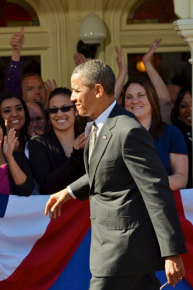 Magic Kingdom「Obama Discusses Economic Strategies At Walt Disney World Event」:写真・画像(19)[壁紙.com]