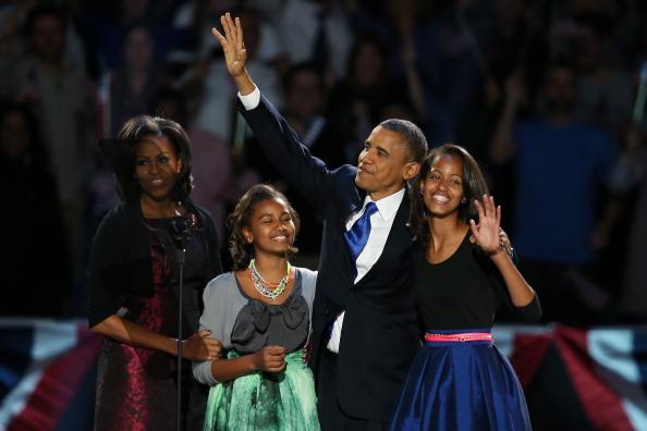 US President「President Obama Holds Election Night Event In Chicago」:写真・画像(6)[壁紙.com]