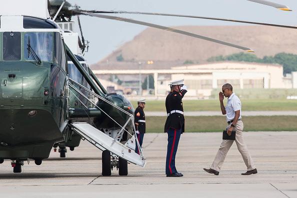 Joint Base Andrews「President Obama Departs For Camp David」:写真・画像(14)[壁紙.com]